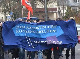 Demo: Den rassistischen Konsens brechen! Gegen Deutschland und seineNazis!