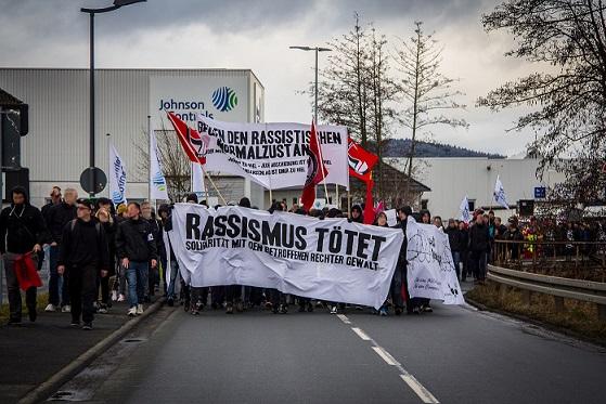 Rede: Rassismus tötet! Demo gegen rechte Gewalt(22.02.2014)