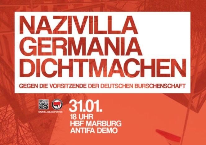 Aufruf: Nazivilla Germaniadichtmachen!