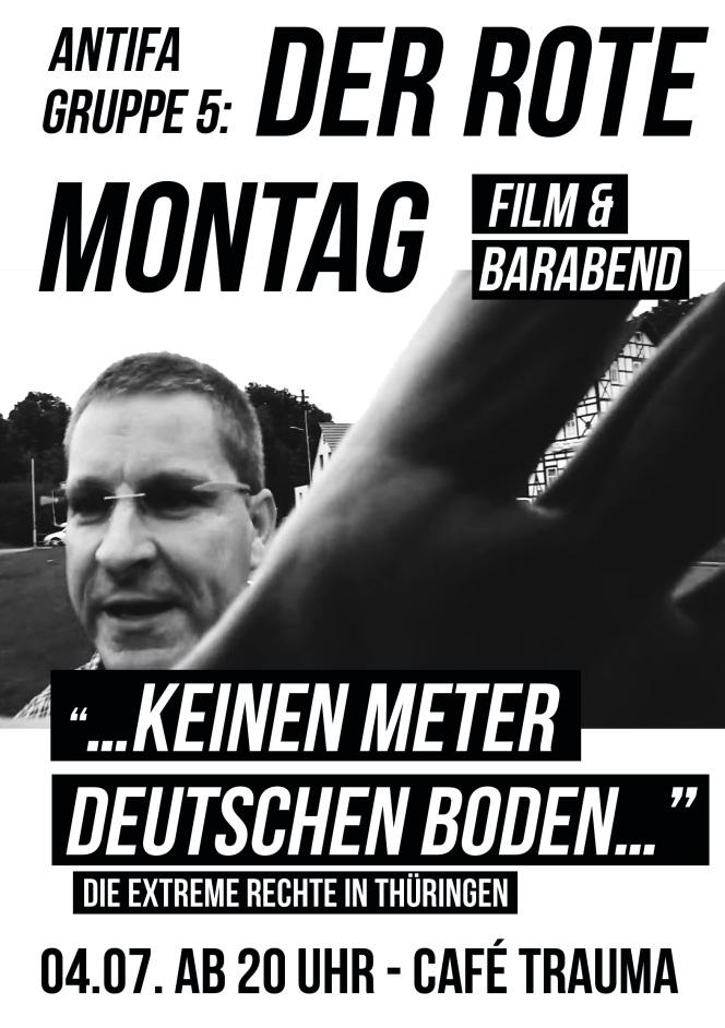 DER ROTE MONTAG // Film- & Barabend //04.07.