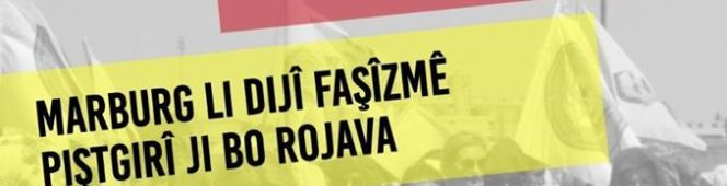 Aufruf: Marburg gegen Faschismus – Solidarität mitRojava!